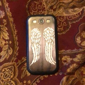 Samsung Galaxy 3 phone case wings